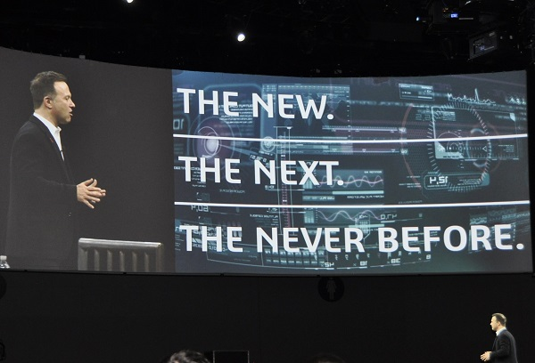 SOLIDWORKS World 2017では、「THE NEW.THE NEXT.THE NEVER BEFORE」をテーマに掲げ、「設計業界全体の未来をすばらしいものにする」と訴えた