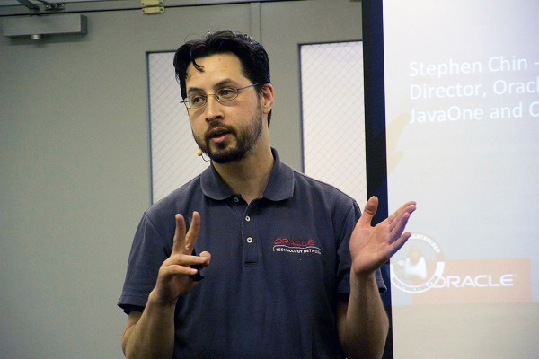 Java Champion Stephen Chin氏